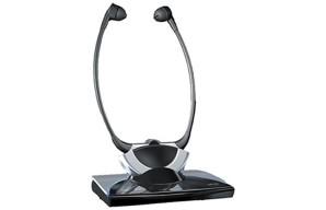 FM TV Listener with Headphones